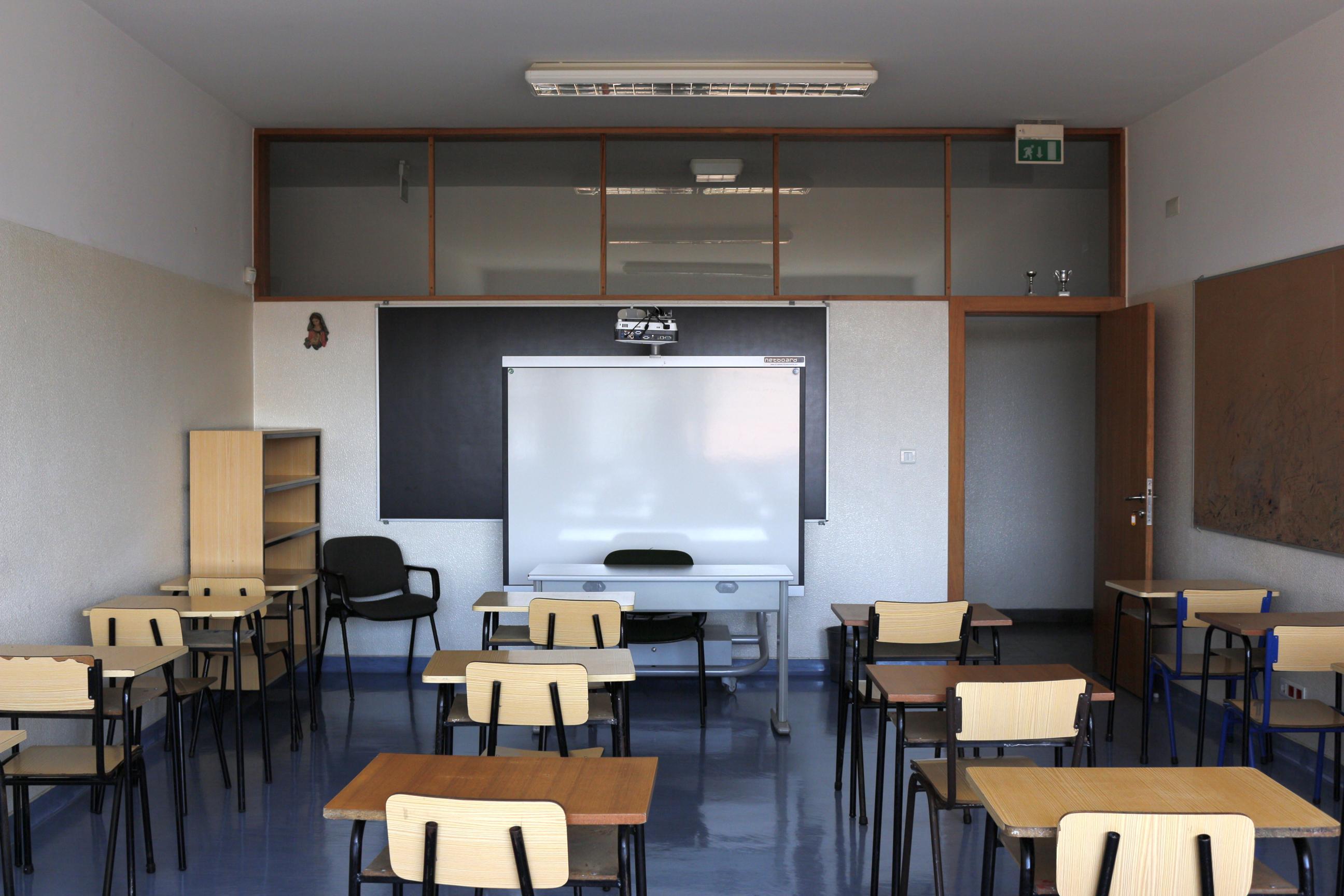Sala de aula 2º e 3º Ciclo